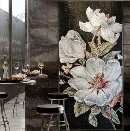Fashion-flower-s235-mosaic-entranceway-background-wall-decorative-painting-mosaic-tile-puzzle-MSG-shipping-fee-adjust