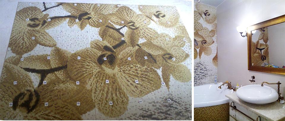 Mosaic-flower-Orhidea