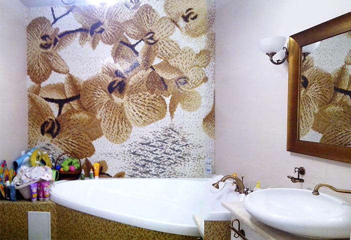 Mosaic-flower-Orhideas