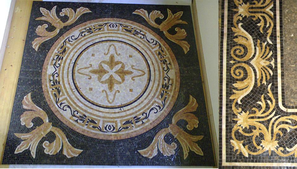 Mosaic-marble-rug