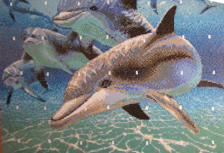 Mosaic-panno-delfini