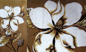 Mosaic_Flower_Brown
