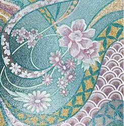 Mosaic_pattern_Green_Style