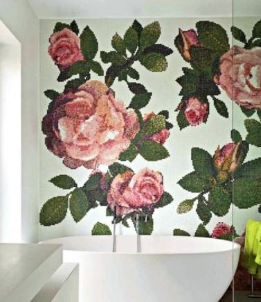 Декоративное панно Розы