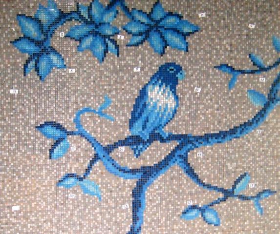 Mozaika-panno-ptitsa