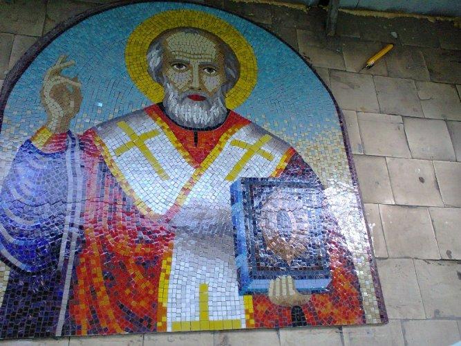 Икона из мозаики своими руками 69