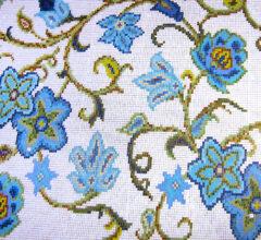 Мозаичное панно для ванной комнаты Flowers
