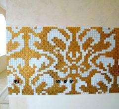 Декор из мозаики «Damasco Oro»