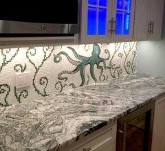 Кухонный фартук Octopus