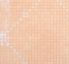 Декор мозаикой Нежные ромбы