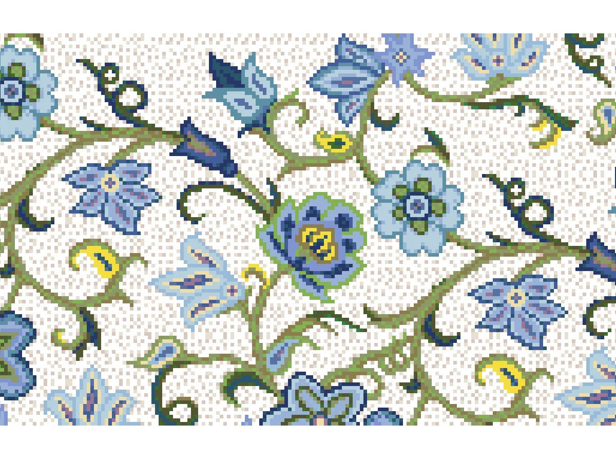 Мозаичный декор Цветочный узор
