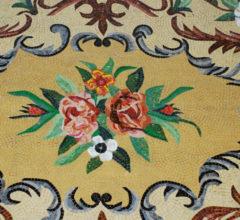 Мозаичный ковер «Цветочный мотив»