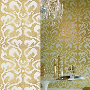 Золотой декор из мозаики от 160 у.е