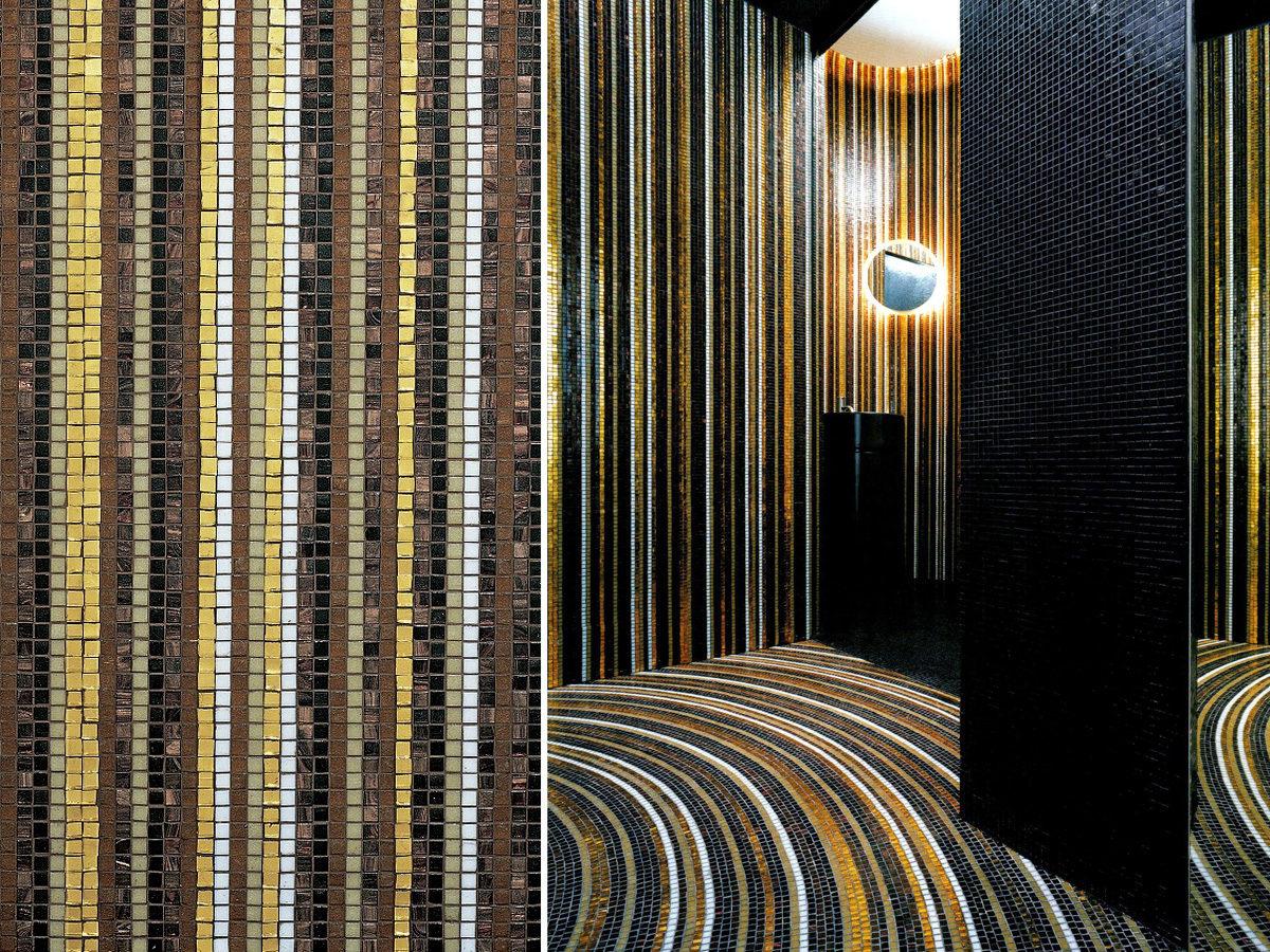 Мозаичный декор Bisazza Stripes Fall