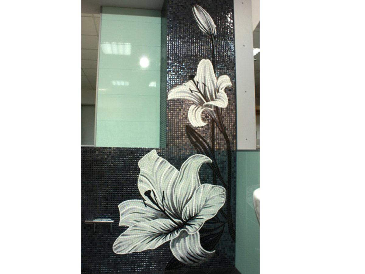 Мозаика для ванной Лилии