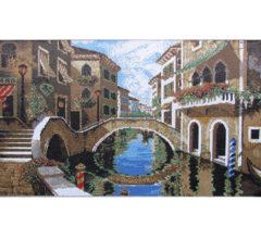 Мозаичная фреска Улица в Италии