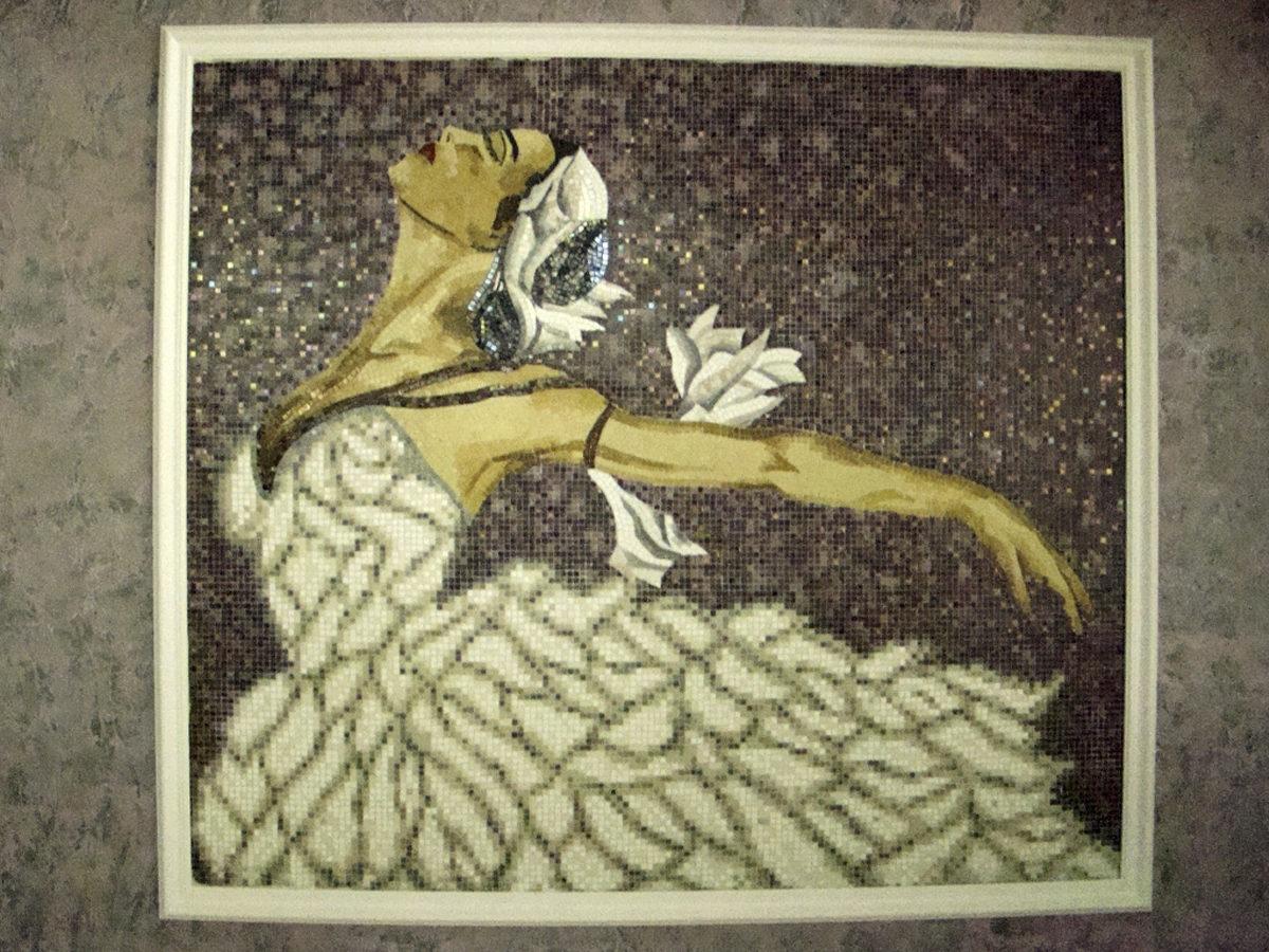 Римская мозаика картина «Балерина»