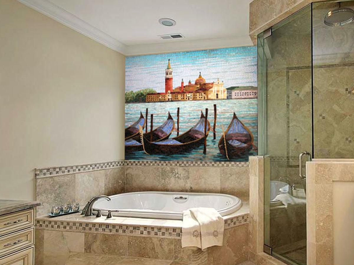 Мозаичная фреска Венеция