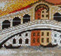 Мозаичная картина Мост Реальто
