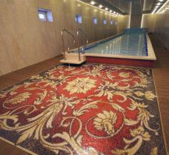Мозаичный ковер для бассейна