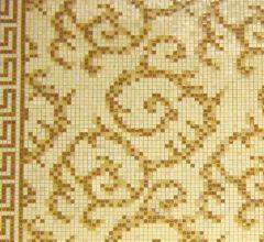 Панно из мозаики для кухни Versace