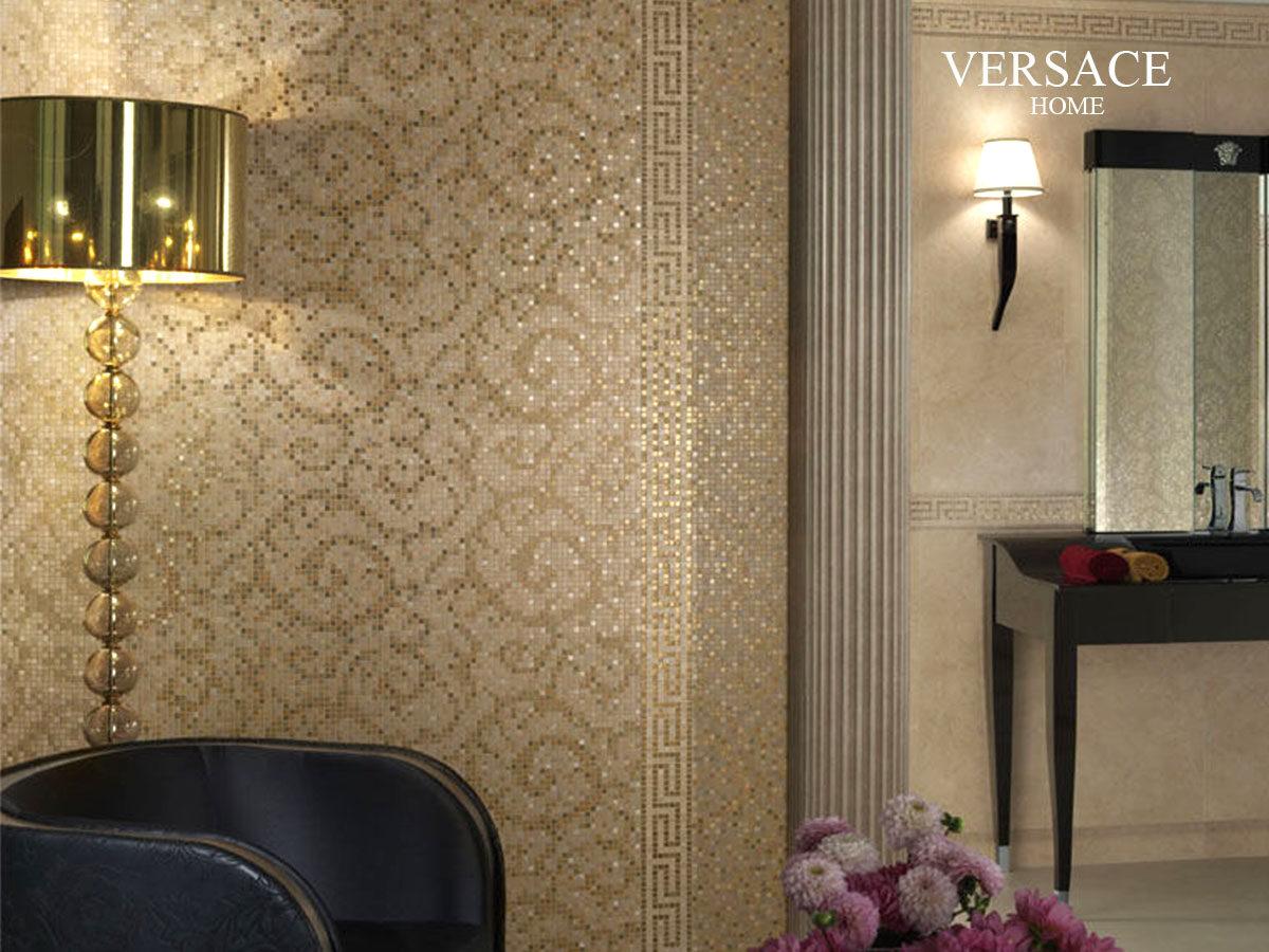 Мозаика для ванной Versace